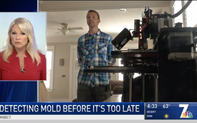 NBC 7 Reports – Local Invention To Detect Mold Before It's Too Late